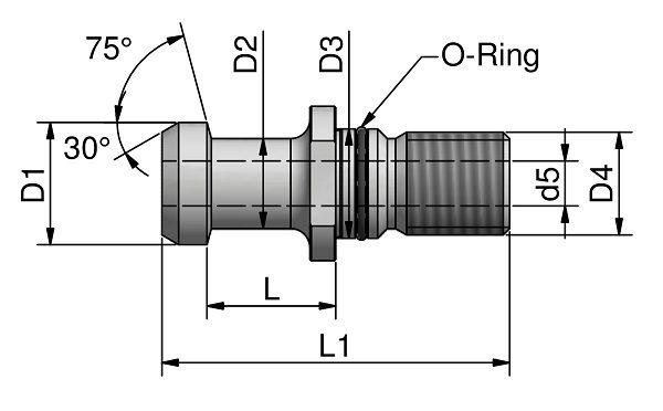 CODOLI<br>ISO 7388/2 A - 75°