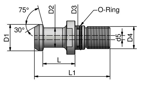 JIS-B 6339 - 75°