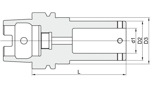 Adattatore modulare HSK -  DP