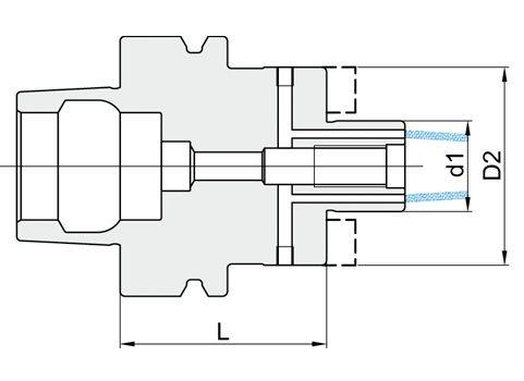 PORTAFRESE<br> con canali di lubrificazione