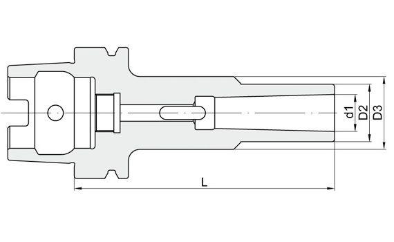 Riduzione Cono Morse per punte
