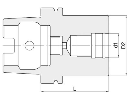 Adattatore Modulare tipo HSK - VAR